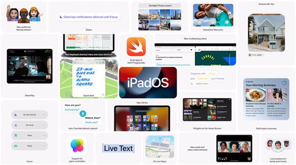 WWDC21 iPadOS