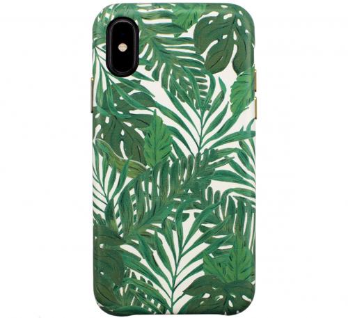 【iPhoneXS:Xケース】OOTD CASE for iPhoneXS:X (green leaf)