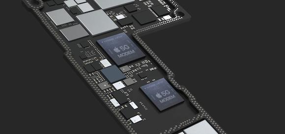 Apple 5G modem EAP