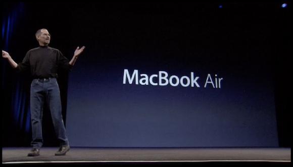 Apple MacBook Air 発表
