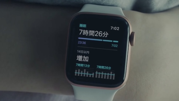 Apple Watch CM「さあ、アクティブな方へ」