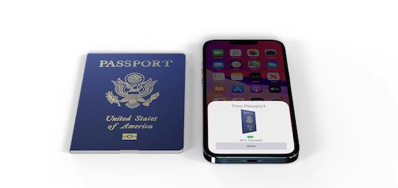 iOS15 passport