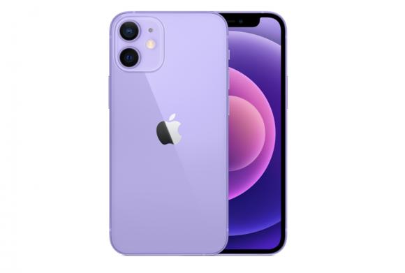 iPhone12 miniパープル