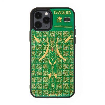 FLASH EVA13 iPhoneケース-緑