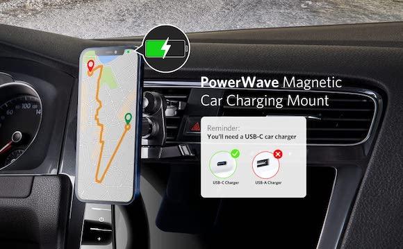 Anker PowerWave Magnetic Car Charging Mount