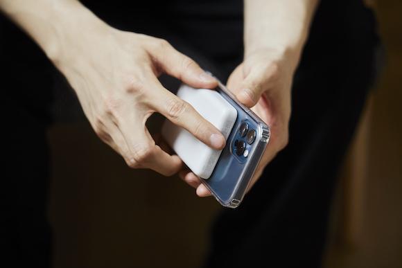 Belkin「SHEERFORCE MagSafe対応抗菌クリアケース」