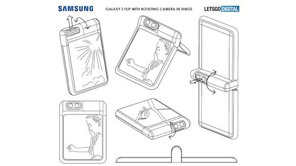 Galaxy new camera patent