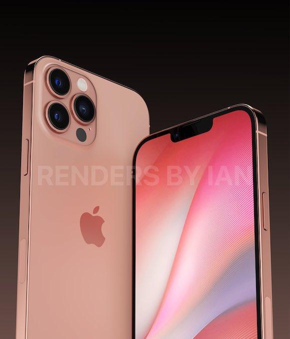 Ian iPhone13 Pro sunset gold