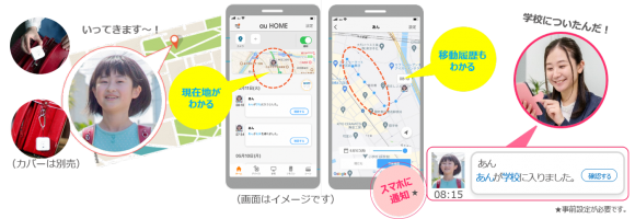 KDDI GPS