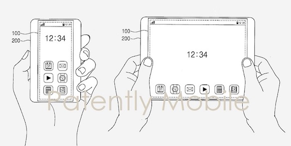 Rollable iphone ipad patent_2