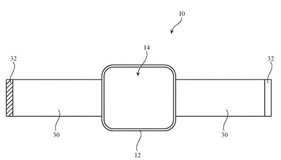 USPTO display patent 202010 Apple Watch