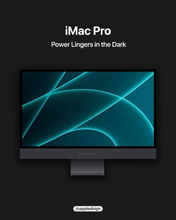 iMac Pro apple silicon AD