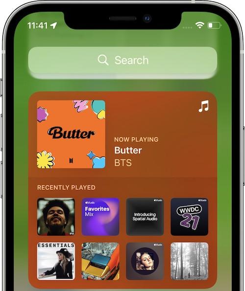 iOS15 ベータ3 変更点