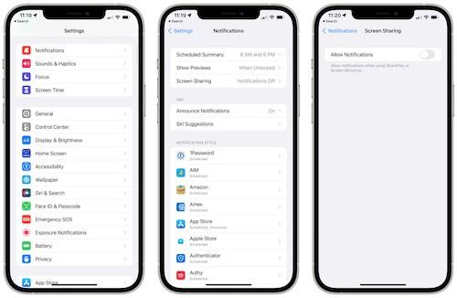 iOS15ベータ4変更点