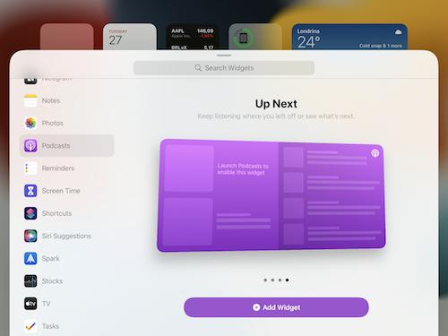 iPadOS15 ベータ4 変更点