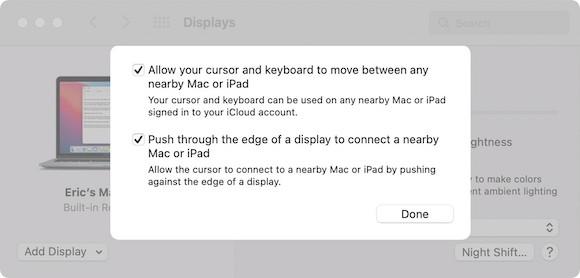 macOS Monterey ベータ3 変更点