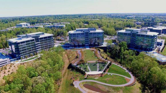 apple ノースカロライナ キャンパス