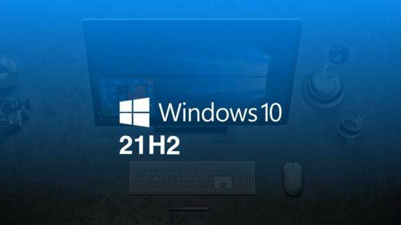 Windows 10のバージョン21H2の画像