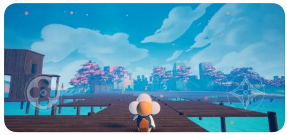 LOUIS THE GAME-ゲーム画面