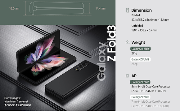 Galaxy Z Fild3 5G_4