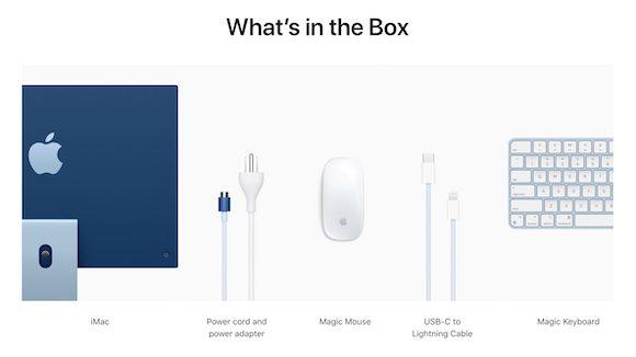M1 iMac package