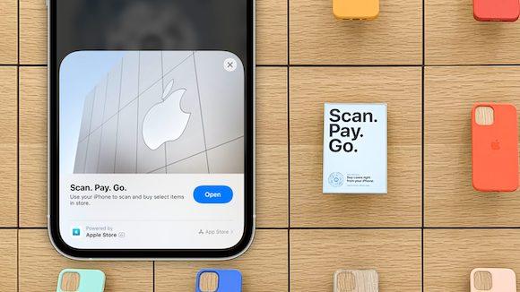 Apple StoreのApp Clipによるセルフチェックアウト