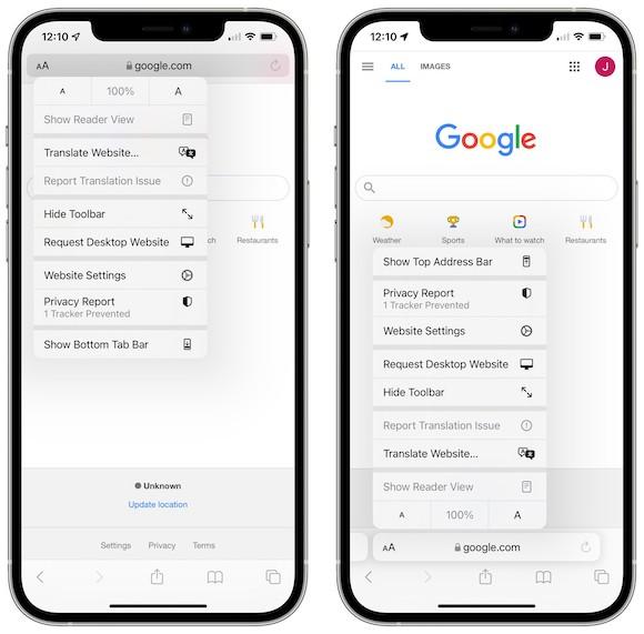 iOS15ベータ6変更点