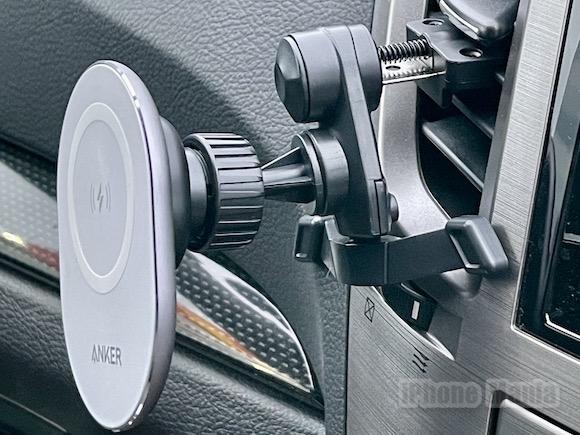 「Anker PowerWave Magnetic Car Charging Mount 車載ホルダー」レビュー