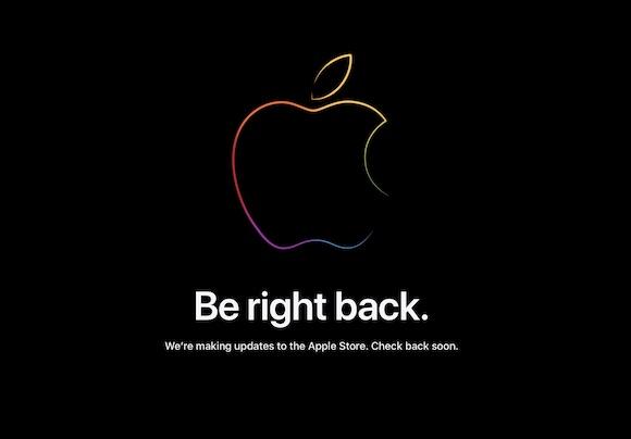 Apple メンテナンスモード 2021年9月14日