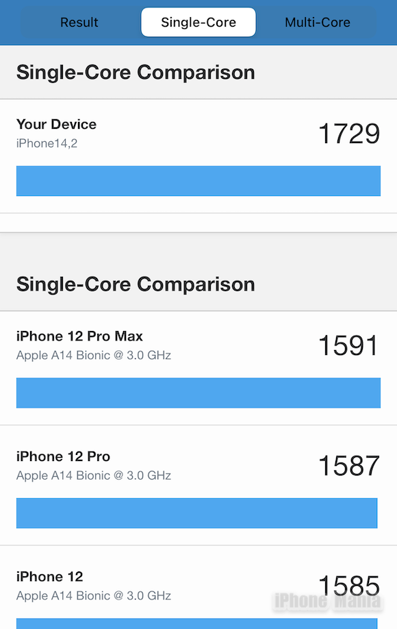 Geekbench 5 iPhone13 Pro_3
