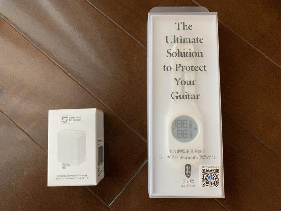 Lee Guitars Bluetooth 温湿度計とゲートウェイの画像