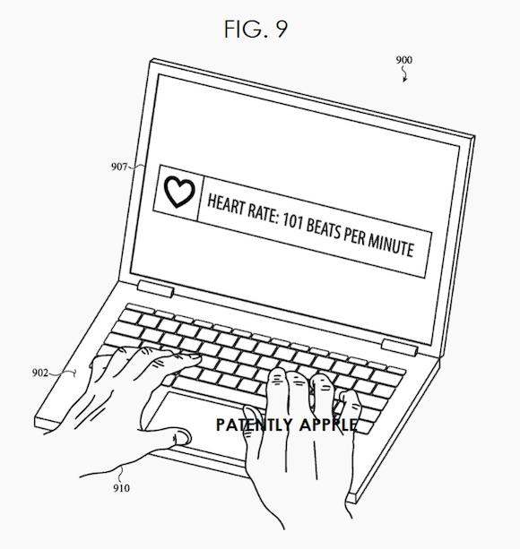 MacBook biosensor patent_3