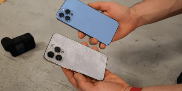 iphone13 pro max 落下実験