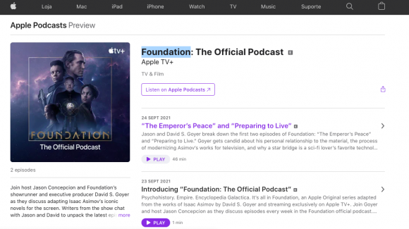 Foundation: The Official Podcas
