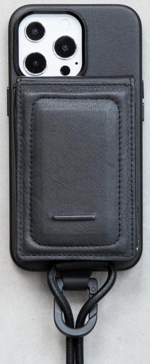 ショルダーストラップ付MagSafe対応iPhoneケース