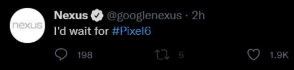 pixel 6 google nexus