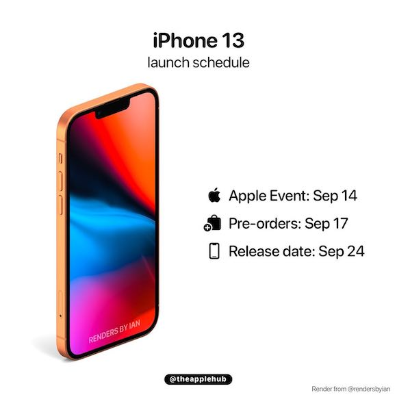 iPhone13 launch AH 0911