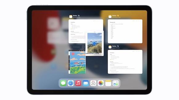 iPadOS15 マルチタスク SplitView