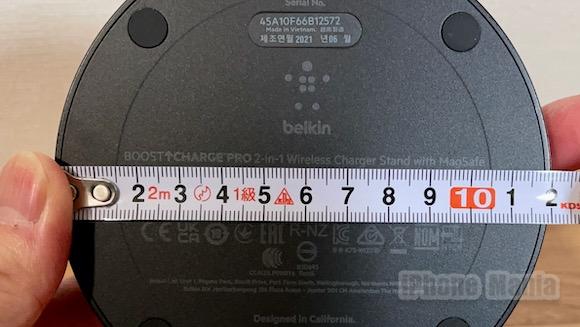 Belkin ベルキン MagSafe ワイヤレス充電スタンド レビュー