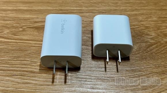 Belkin ベルキン 「BOOST↑CHARGE USB-C PD 3.0 PPSウォールチャージャー25W」 レビュー