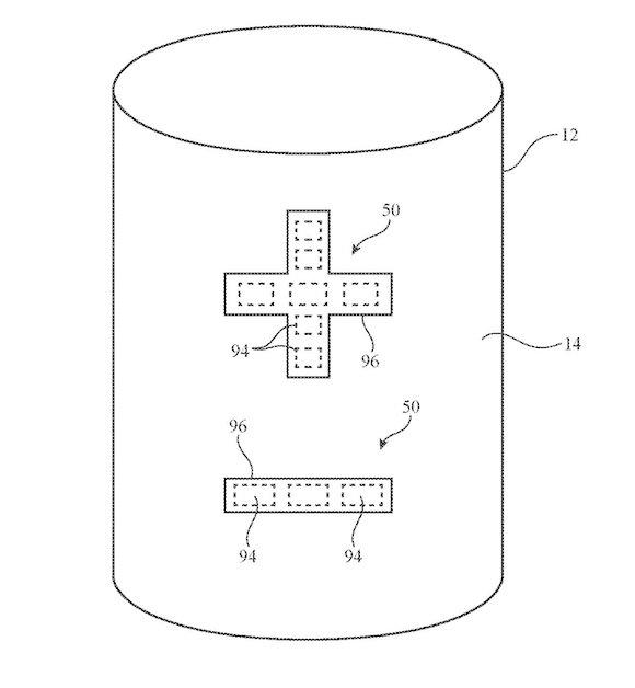 Homepod touch sensor patent