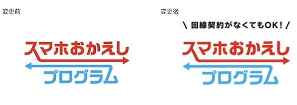 NTTドコモ 「スマホおかえしプログラム」 ロゴ