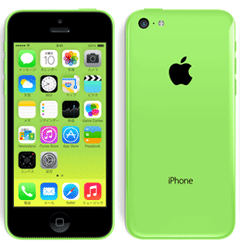 iPhone5Cグリーン
